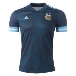 2020 Argentina Away Dark Green Soccer Jerseys Shirt