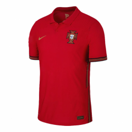 2020 Portugal Home Red Jerseys Shirt(Player Version)