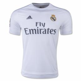 15/16 Real Madrid Home White Retro Jerseys Shirt