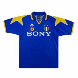 95/96 Juventus Third Away Blue Soccer Retro Jerseys Shirt