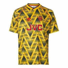 92/93 Arsenal Away Yellow Retro Jerseys Shirt
