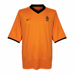 2000 Netherlands Retro Home Orange Soccer Jerseys Shirt