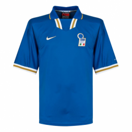 1996 Italy Home Blue Retro Soccer Jerseys Shirt