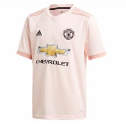 18/19 Manchester United Away Pink Retro Jerseys Shirt