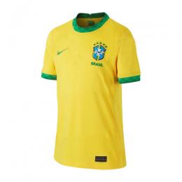 2020 Brazil Home Yellow soccer Jerseys Shirt(Player Version)