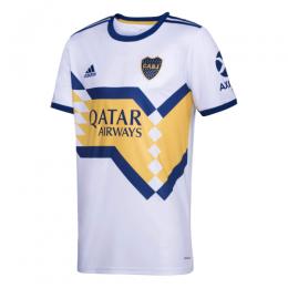 20/21 Boca Juniors Away White Soccer Jerseys Shirt