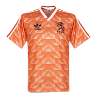 1988 Netherlands Retro Home Soccer Jersey Shirt