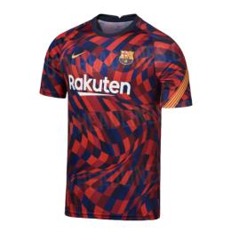 20/21 Barcelona Red Training Shirt