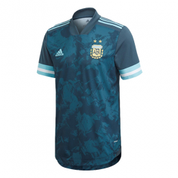 2020 Argentina Away Dark Green Soccer Jerseys Shirt(Player Version)