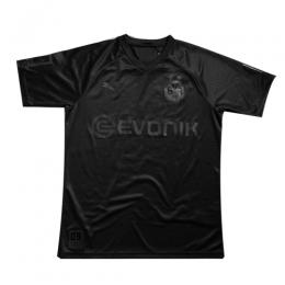 19/20 Borussia Dortmund 110th Anniversary Black Soccer Jerseys Shirt