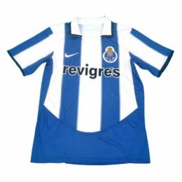 03/04 Porto Home Blue&White Retro Soccer Jerseys Shirt