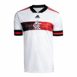 20/21 CR Flamengo Away White Soccer Jerseys Shirt