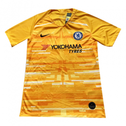 19/20 Chelsea Goalkeeper Yellow Jerseys Shirt