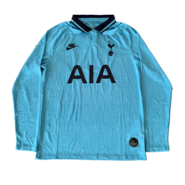19/20 Tottenham Hotspur Third Away Blue Long Sleeve Jersey Shirt