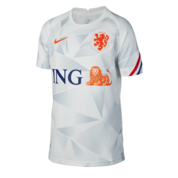 2020 Netherlands White Training Jerseys Shirt
