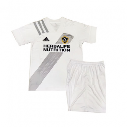 2020 La Galaxy Home White Children's Jerseys Kit(Shirt+Short)