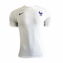2020 France Away White Soccer Jerseys Shirt(Player Version)