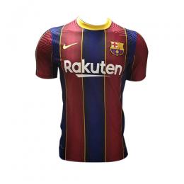 20/21 Barcelona Home Blue&Red Soccer Jerseys Shirt(Player Version)