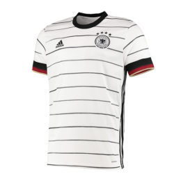 2020 Germany Home White Jerseys Shirt