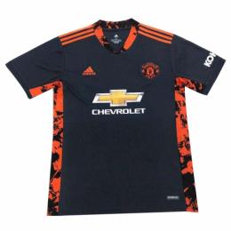 20/21 Manchester United Goalkeeper Black Jerseys Shirt
