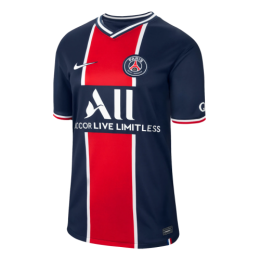 20/21 PSG Home Navy&Red Soccer Jerseys Shirt(Player Version)