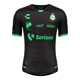 20/21 Santos Laguna Away Black Soccer Jerseys Shirt