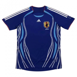 2006 World Cup Japan Home Blue Retro Soccer Jerseys Shirt