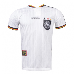 1996 Germany Retro Home Soccer Jersey Shirt