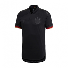 2020 Germany Away Black Jerseys Shirt(Player Version)