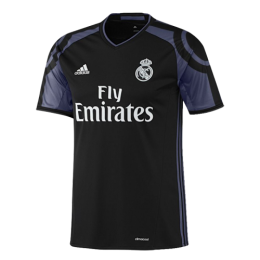 16/17 Real Madrid Third Away Black&Purple Retro Jerseys Shirt