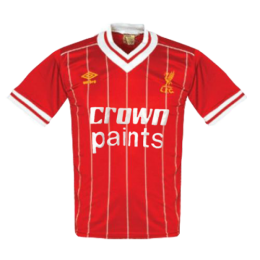 83/84 Liverpool Home Red Retro Soccer Jerseys Shirt