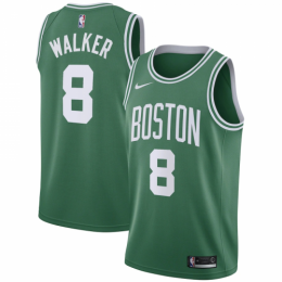 Men's Boston Celtics Kemba Walker No.8 Kelly Green 19-20 Swingman Jersey - Icon Edition
