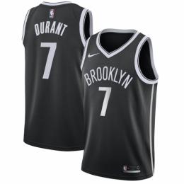 Men's Brooklyn Nets Kevin Durant No.7 Black 19-20 Swingman Jersey - Icon Edition