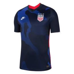 2020 USA Away Four Stars Blue Soccer Jerseys Shirt