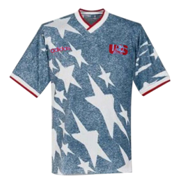 1994 World Cup USA Away Navy Retro Soccer Jerseys Shirt