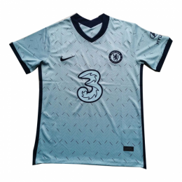 20/21 Chelsea Away Light Blue Soccer Jerseys Shirt