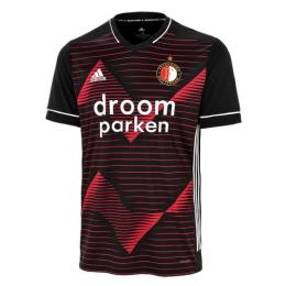 20/21 Feyenoord Away Red&Black Jerseys Shirt