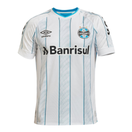 20/21 Grêmio FBPA Away White Soccer Jerseys Shirt