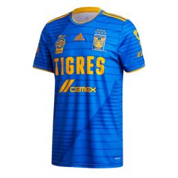 20/21 Tigres UANL Away Blue Soccer Jerseys Shirt