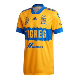 20/21 Tigres UANL Home Yellow Soccer Jerseys Shirt
