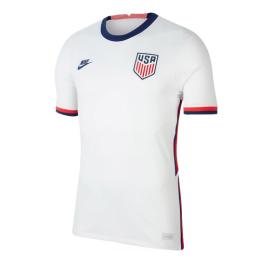 2020 USA Home White Soccer Jerseys Shirt(Player Version)