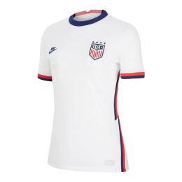 2020 USA Home Four Stars White Women's Jerseys Shirt