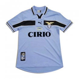 99/00 Lazio Home Blue Retro Soccer Jerseys Shirt