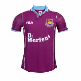 99/01 West Ham United Home Purple Soccer Jerseys Shirt