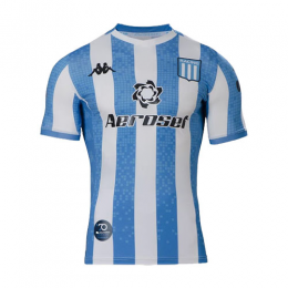 20/21 Racing Club de Avellaneda Home Blue&White Soccer Jerseys Shirt