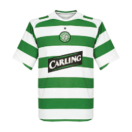 05/06 Celtic Home Green&White Soccer Jerseys Shirt