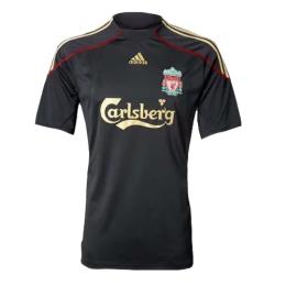 09/10 Liverpool Away Black Retro Jerseys Shirt