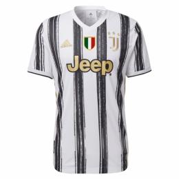20/21 Juventus Home Black&White Soccer Jerseys Shirt(Player Version)