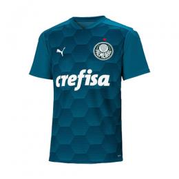 2020 Palmeiras Goalkeeper Blue Soccer Jerseys Shirt