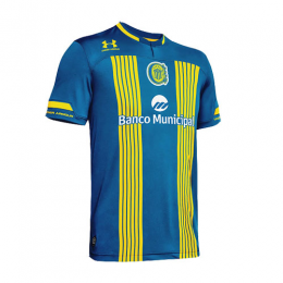 20/21 Rosario Central Home Blue Soccer Jerseys Shirt
